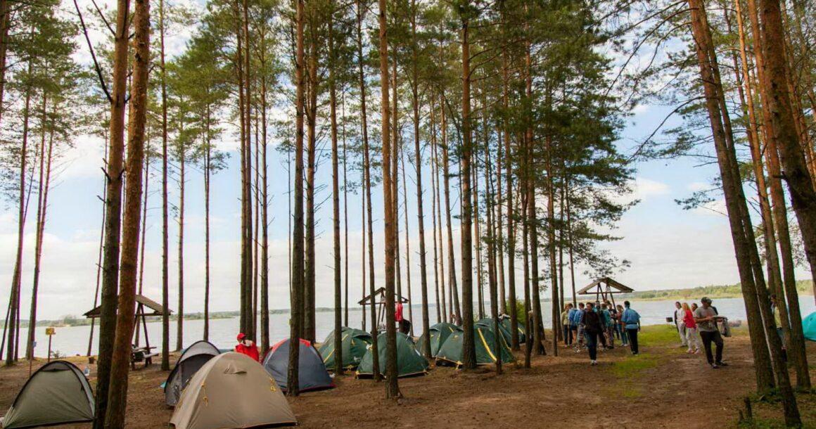 турслет клевое место палаточный городок